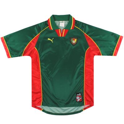 1998-99 Cameroon Puma Prototype Home Shirt L