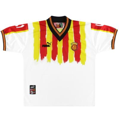 1998-99 Catalunya Puma Home Shirt L