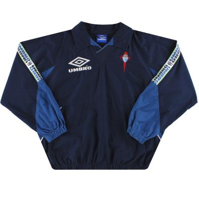 1998-99 Celta Vigo Umbro Drill Top *Mint* XL