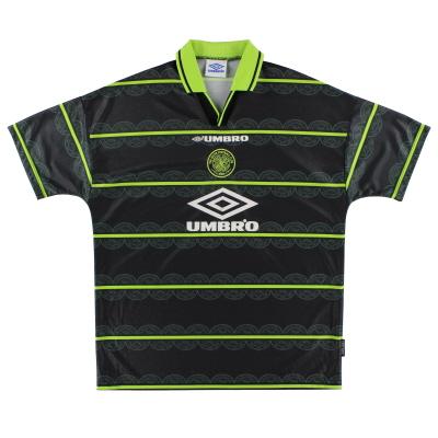 1998-99 Celtic Away Shirt *Mint* XL