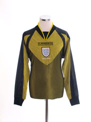 1998-99 England Goalkeeper Shirt Y