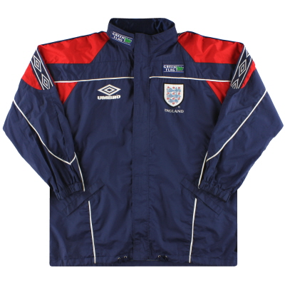 1998-99 England Umbro Bench Coat XL