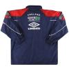 1998-99 England Umbro Bench Coat XL