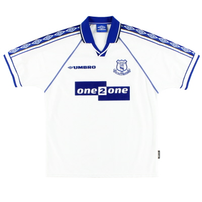 1998-99 Everton Umbro Away Shirt Y