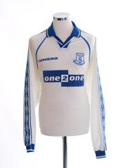 1998-99 Everton Away Shirt L/S XL