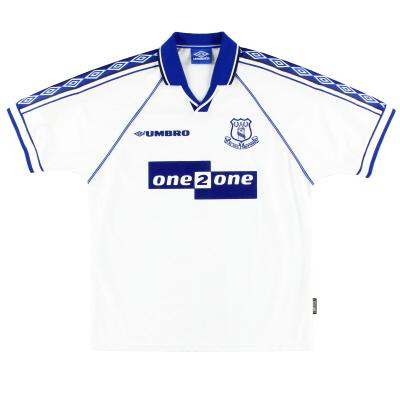 1998-99 Everton Umbro Away Shirt XL