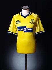 1998-99 Everton Third Shirt XXL