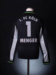 1998-99 FC Koln Goalkeeper Shirt Menger #1 L
