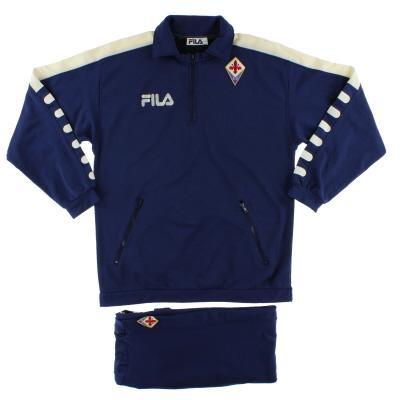1998-99 Fiorentina Fila Tracksuit XXL