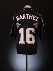 1998-99 France Goalkeeper Shirt Barthez #16 M