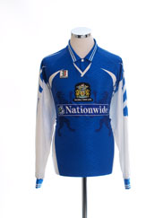 1998-99 Halifax Town Home Shirt L/S XXL