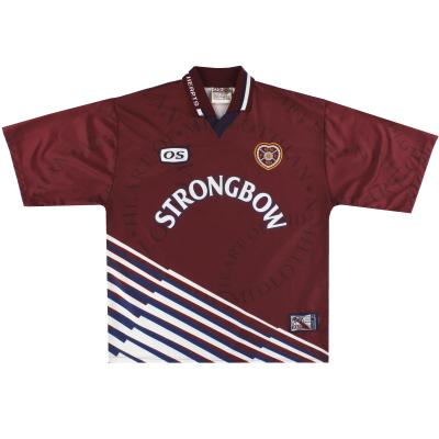 1998-99 Hearts Home Shirt XL