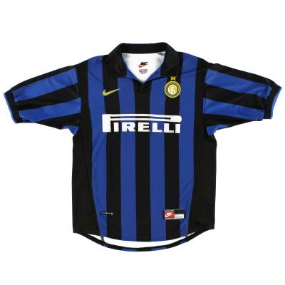 1998-99 Inter Milan Nike Home Shirt XL