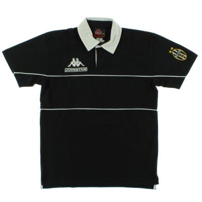 1998-99 Juventus Kappa Polo T-Shirt S