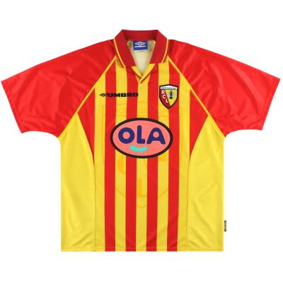 1998-99 Lens Umbro Home Shirt *As New* XL