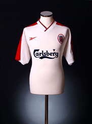 1998-99 Liverpool Away Shirt M