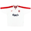 1998-99 Liverpool Away Shirt Owen #10 Y