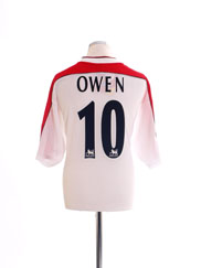 1998-99 Liverpool Away Shirt Owen #10 *BNWT* XL