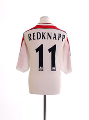 1998-99 Liverpool Away Shirt Redknapp #11 XL