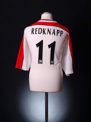 1998-99 Liverpool Away Shirt Redknapp  #11 XXL