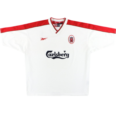 1998-99 Liverpool Reebok Away Shirt S