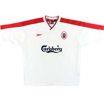 1998-99 Liverpool Reebok Away Shirt L