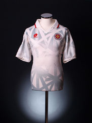 1998-99 Malta Match Worn Away Shirt #6 XL