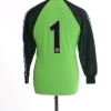 1998-99 Manchester United Goalkeeper Shirt #1 Y
