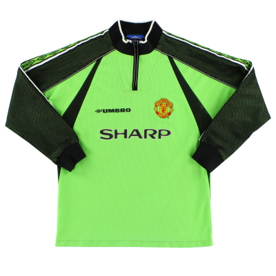 1998-99 Manchester United Umbro Goalkeeper Shirt Y
