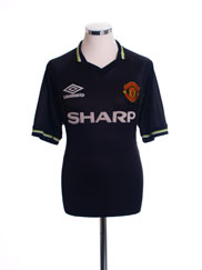 1998-99 Manchester United Third Shirt L