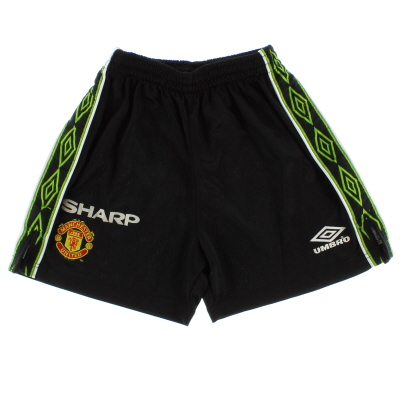 1998-99 Manchester United Umbro Third Shorts Y