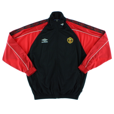 1998-99 Manchester United Umbro Track Jacket *As New* L