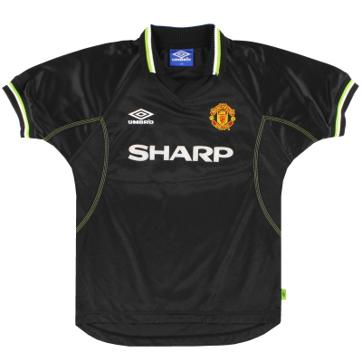 1998-99 Manchester United Umbro Third Shirt L.Boys