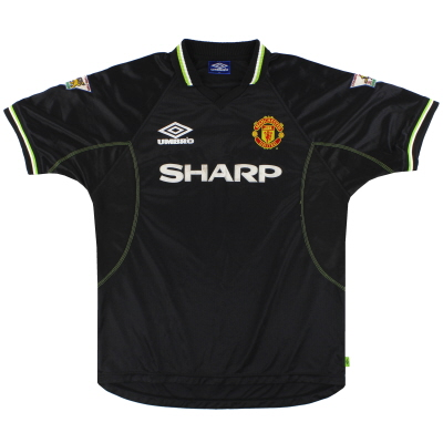 1998-99 Manchester United Umbro Third Shirt XL