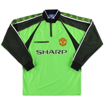1998-99 Manchester United Umbro Goalkeeper Shirt M