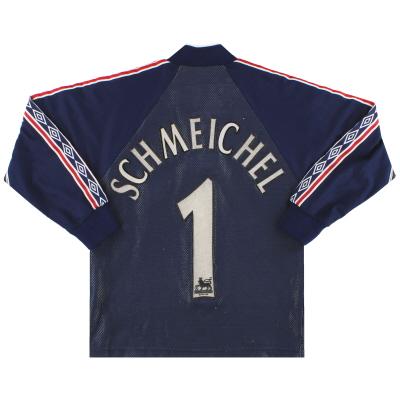 1998-99 Manchester United Umbro Goalkeeper Shirt Schmeichel #1 Y