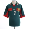 1998-99 Morocco Home Shirt Hadji #7 XL