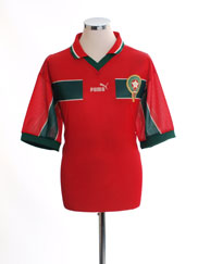 1998-99 Morocco Home Shirt L