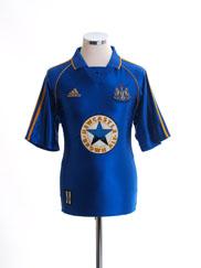 1998-99 Newcastle United Away Shirt Y