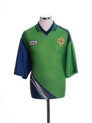 1998-99 Northern Ireland Home Shirt M