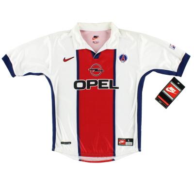 1998-99 Paris Saint-Germain Away Shirt *w/tags* M.Boys