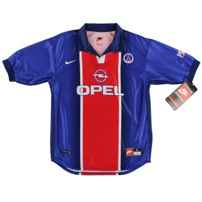 1998-99 Paris Saint-Germain Home Shirt *w/tags* L.Boys