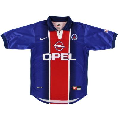 1998-99 Paris Saint-Germain Home Shirt S