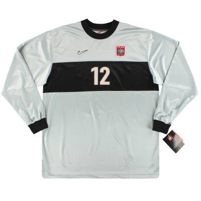 1998-99 Poland Nike Match Issue Goalkeeper Shirt #12 *w/tags* XXL