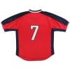 1998-99 Rangers Nike Away Shirt #7  L
