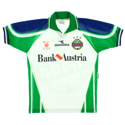 1998-99 Rapid Vienna Home Shirt S