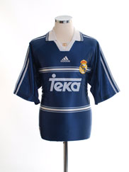 1998-99 Real Madrid Away Shirt *BNWT* M
