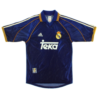 1998-99 Real Madrid Third Shirt S