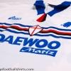 1998-99 Sampdoria Away Shirt Montella #9 M
