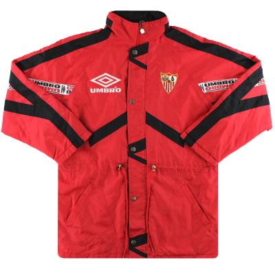 1998-99 Sevilla Umbro Bench Coat XL